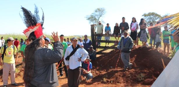 Campanha de ajuda aos Guarani-Kaiowá (MS)