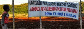 Campanha Kaiowá e Guarani do Mato Grosso do Sul