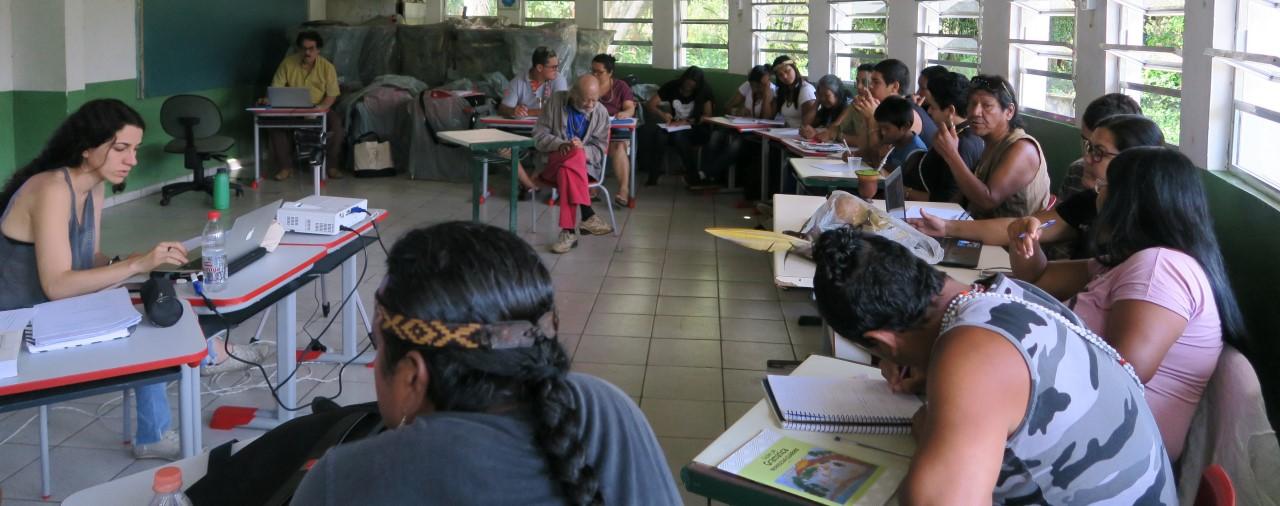 Língua, Memória e Identidade na VII Oficina de Gramática Tupi-Guarani