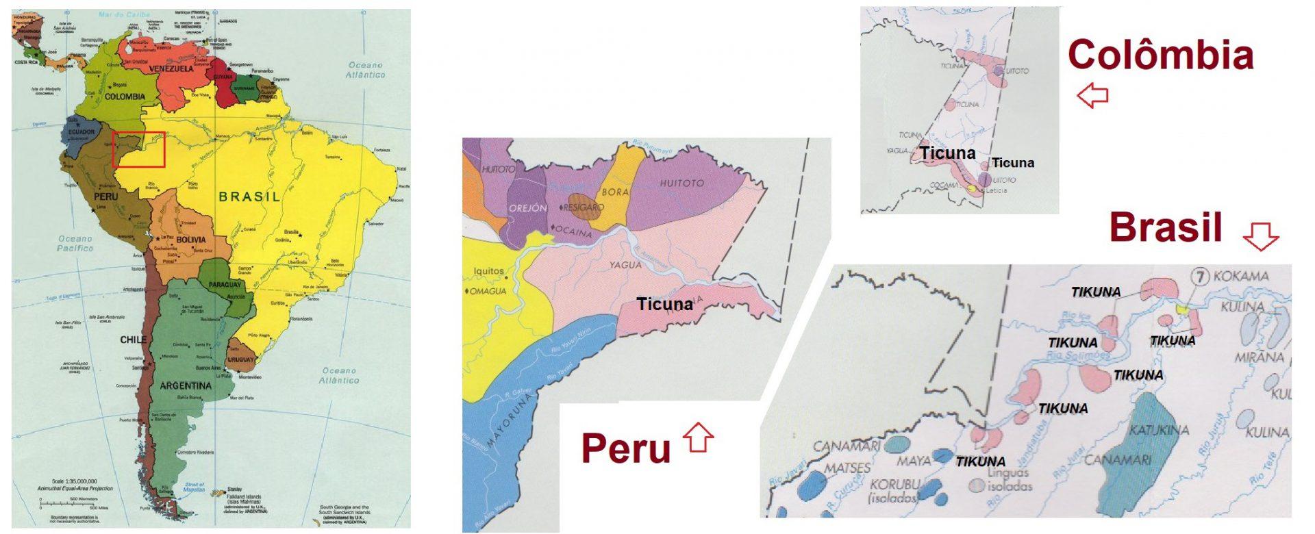 Em língua Tikuna, os parentes são alertados