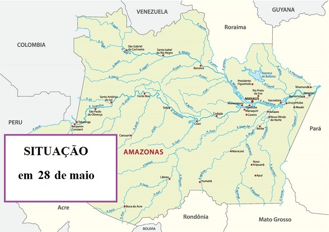 COVID-19 no Amazonas             .                   Informações atualizadas