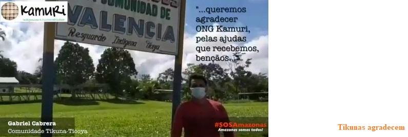 Comunidades Tikuna da Colômbia agradecem