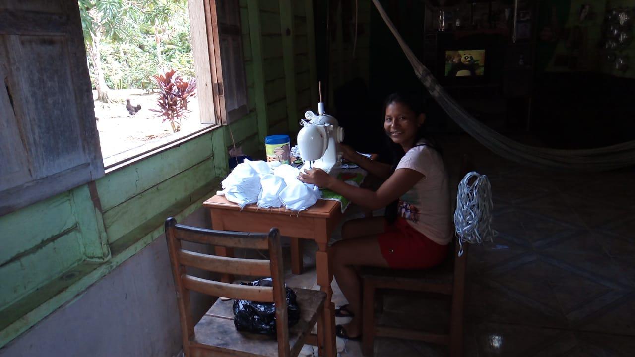 SOS Tikunas e parceria com a Associação de Mulheres Indígenas – MAPANA